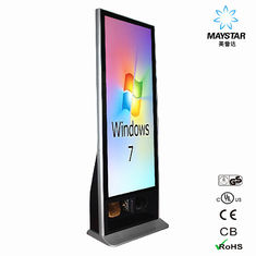 China Reliable Digital Advertising Kiosk , All In One Free Standing Touch Screen Kiosk supplier