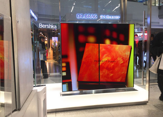 China Maystar Digital Advertising Display Double Side OLED Monitor 55 Inch supplier