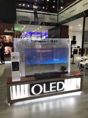 China See Through Digital Clear OLED Display / OEM Transparent OLED Signage supplier