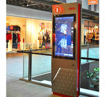 Shopping Mall Interactive Wayfinding Kiosk / Self Service Terminal With Multi Language Support