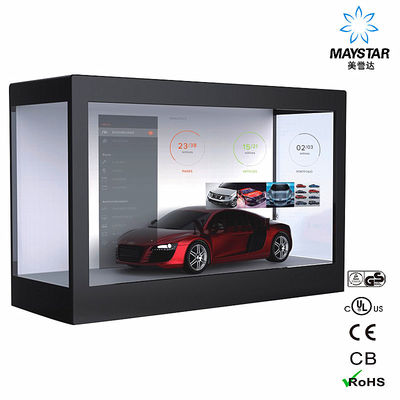 Maystar Transparent LCD Screen Display Box Showcase Shows Off 32 Inch