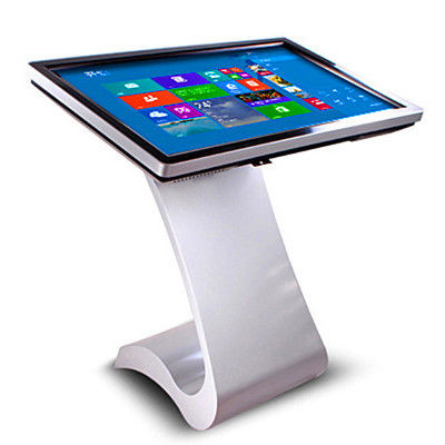 "China High Brightness Digital Touch Screen Signage / Electronic Information Kiosk 32""43""55""50""65"" distributor"