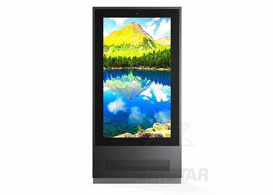China Custom Outdoor Touch Screen Kiosk With Wall Mount / Roof Hanging /  Free Standing Available factory