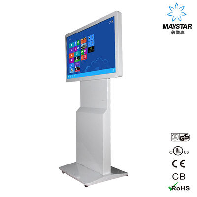 China Airport Floor Standing Digital Signage 300~500 Nits Brightness RoHS Approved factory