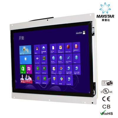"China Professional Touch Screen Kiosk Monitor Size Panel 15""~84"" Built In Open Frame factory"