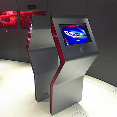China Attractive LCD Android Touch Screen Kiosk Monitor / Touch Screen Computer Kiosk factory