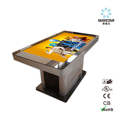 China WIFI Android Floor Standing Kiosk , Digital Display Kiosk Multi Language Support factory
