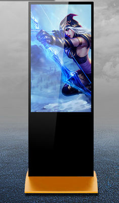 China Super Thin Digital Signage Kiosk Advertising Standee With LED Backlit / Digital Signs factory
