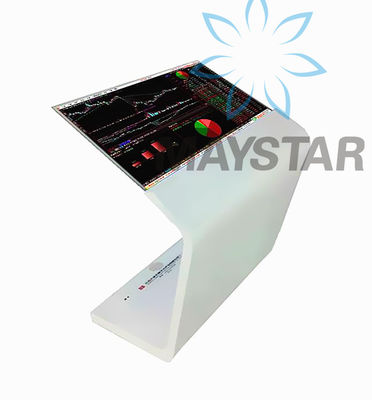 China Multi Functional Transparent OLED Display 500 nits Brightness With Touch Screen distributor