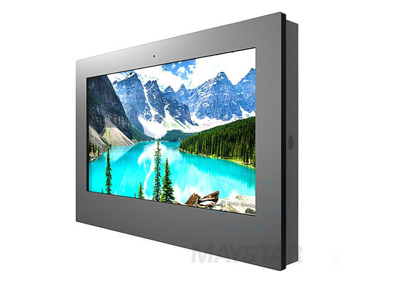 "China Wall Mounted Outdoor Digital Signage 32"" ~ 86"" IP65 Waterproof Anti-vandal Design distributor"