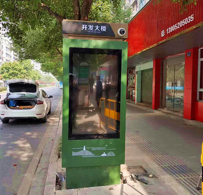 China Public Outdoor Android Windows Digital Signage Dust Proof For Bus Stop Advertising distributor