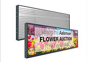 China Ultra Wide Bar Stretched LCD Display / LCD Bar Display For Supermarket Shelf distributor