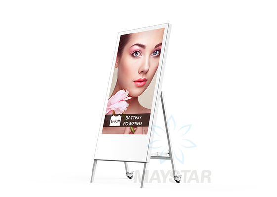 China Full HD Freestanding Digital Display / Electronic Advertising Display Screen distributor