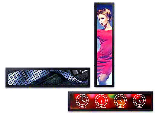 China Fashionable Shelf Digital Signage Display 15 ~84 Inch For Beauty Shop distributor