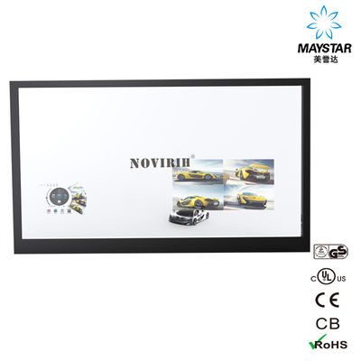 China Shopping Mall Transparent Glass Display , OEM Small Transparent Display factory