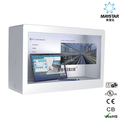 China Modern Transparent LCD Screen For Building And Lift Room Supermarket factory